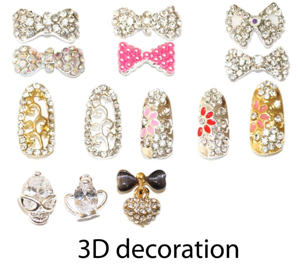 Бантики для дизайна ногтей