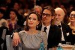 Анджелина Джоли с супругом Бредом Питтом