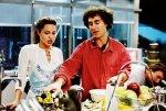 Анджелина на съемках фильма «Мистер и миссис Смит»