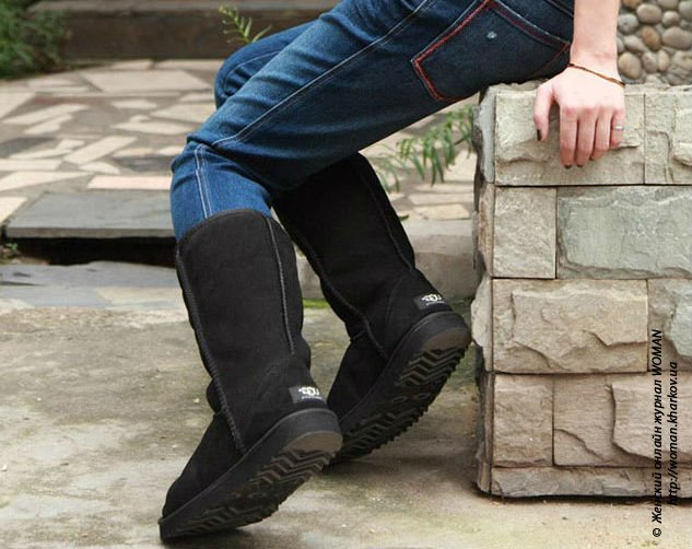 Высокие угги: теплые ноги в самые суровые зимы